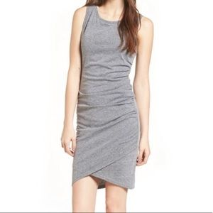 Leith Nordstrom Ruched Body Con Tank Dress